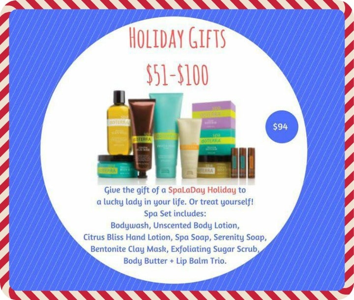 Best Spa Gift Set doTERRA