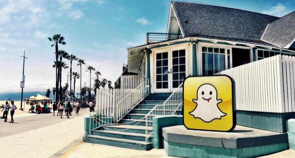 Venice Beach sieht Gespenster: Wo das Snapchat-Logo klebt, sind die Mieten unheimlich hoch
