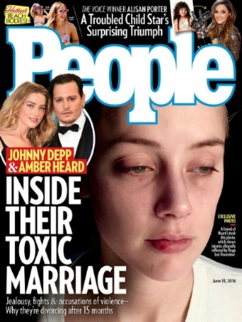 """Schlecht für Amber, gut für """"People"""": der Scheidungskrieg im Auflagenkampf"""