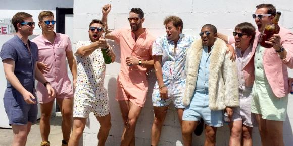 ... und Romper-Boys in diesem Sommer