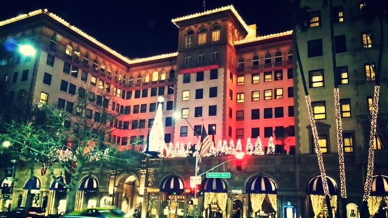 Pretty Woman hat schon lange ausgecheckt: Das Beverly Wilshire Hotel liegt in Sichtweite unserer Bar am Rodeo Drive