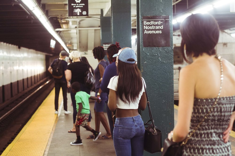 Crowded Platform, 2016