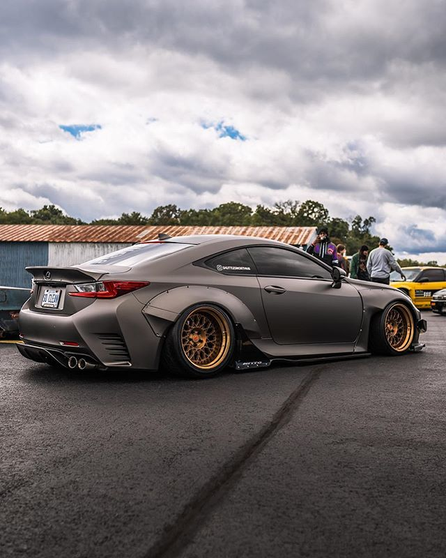 @shuttlesworth416 🔥 #FirstClassFitment #FCF2018 #canibeat  #lexus #vossen #widebody #ngvisuals