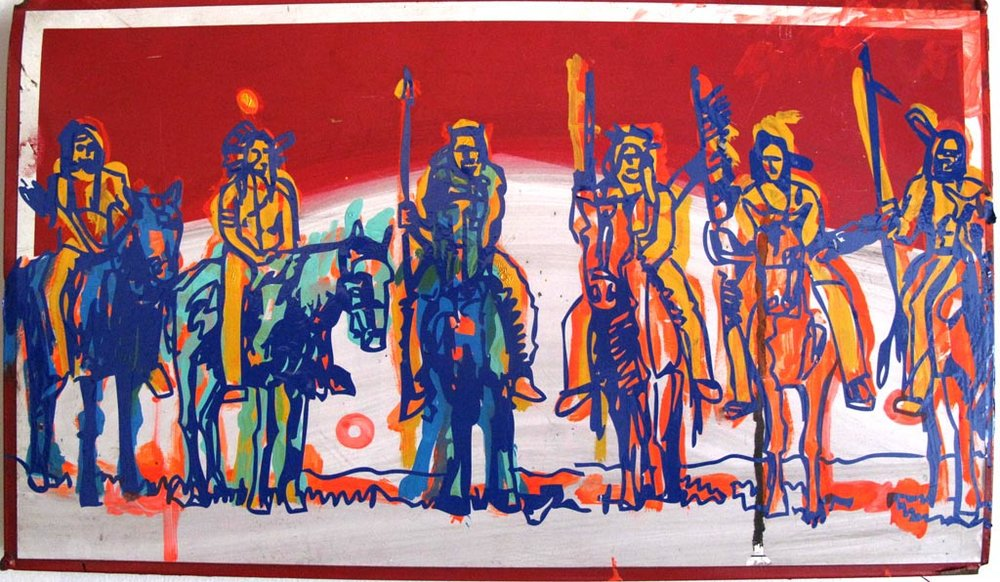 Commanche Indians, Mark Enger 2010