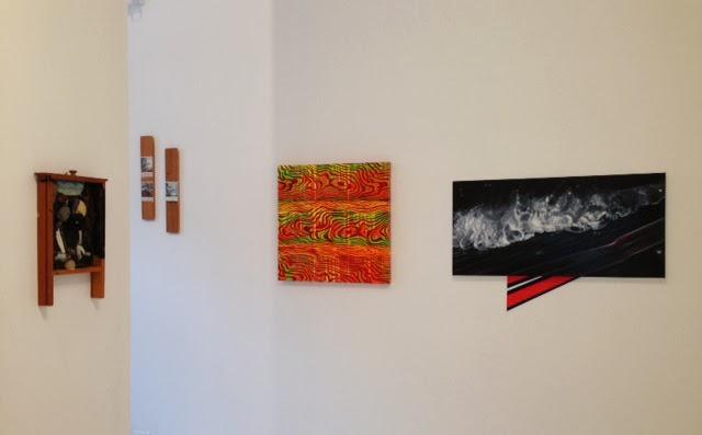 Installation view: Bruce Stiglich, Matt Enger, Edie Nadelhaft