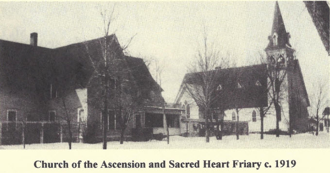 """The order of St. Francis, later to become known as the American Province of the Society of St. Francis, came into being at the Church of the Ascension, Merrill on Holy Cross Day 1919.  - B  ro Justus Richard,   The Little Chronicle, Vol. 77, Issue 1, Autumn 1994."
