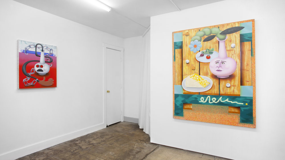 I Come to the Garden Alone , Solo Exhibition at Ochi Projects, Los Angeles, 2018
