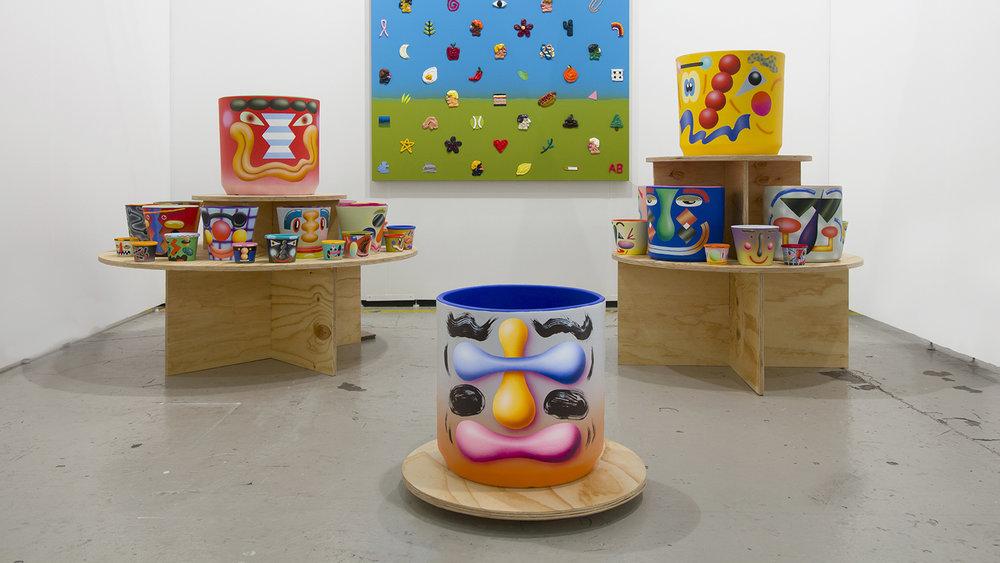 New Pots, Ochi Projects at Art Los Angeles Contemporary (with Adam Beris), 2019
