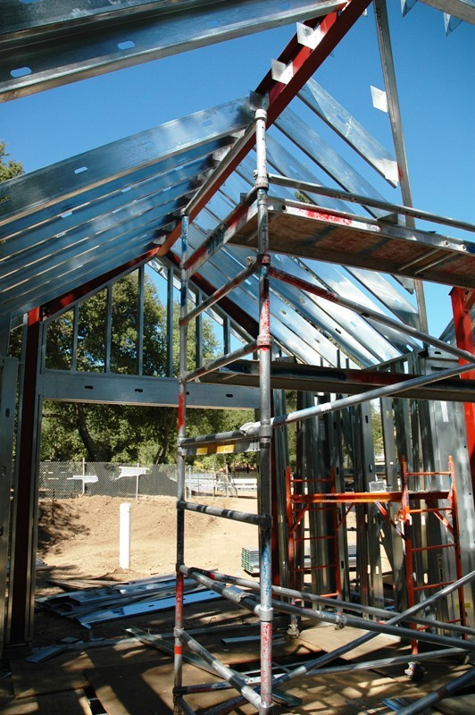 The span and strength of the steel framing system is unmatched.