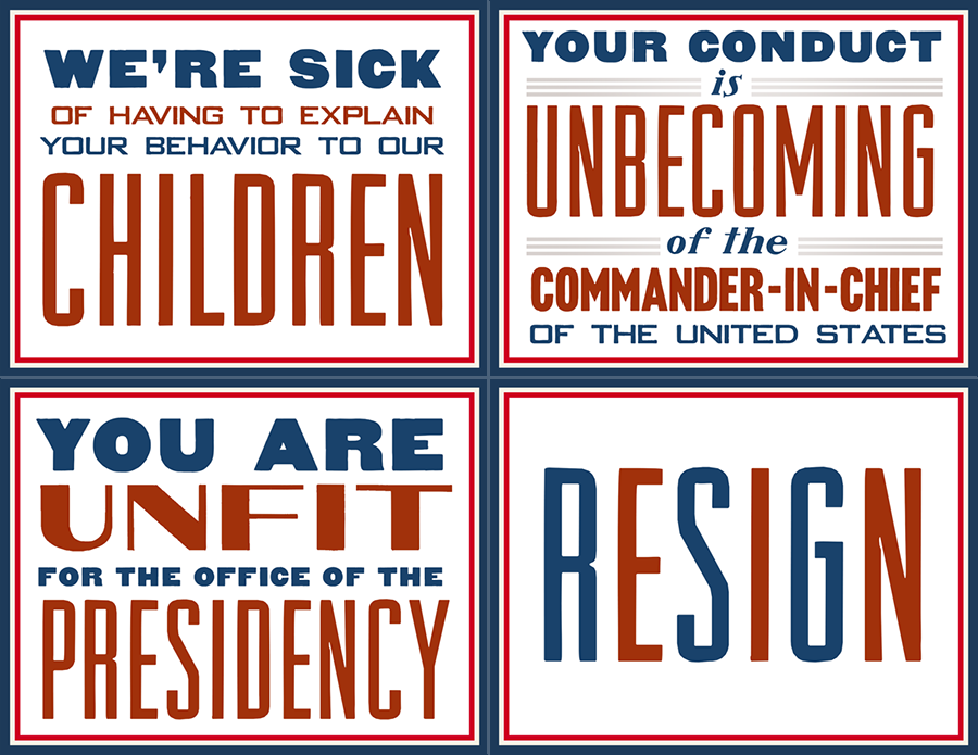"""America Speaks"" Full-Color 4-Pack Click the image to download a Microsoft Word file (543KB)"