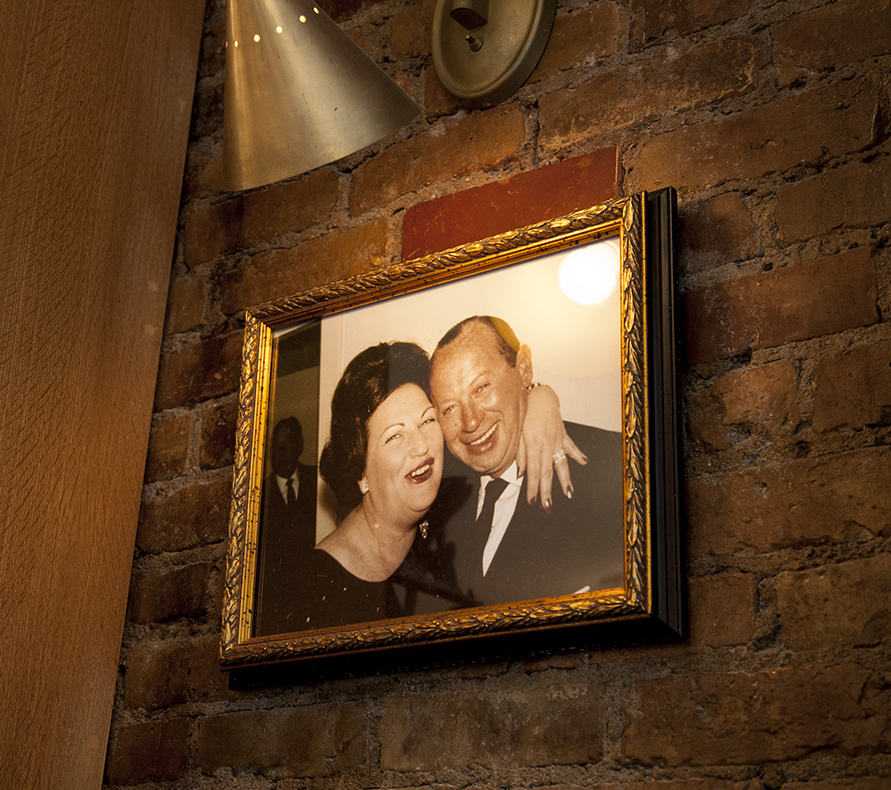 Finally, a photo of Freda and Jack - Dean's grandparents and the restaurant's namesake.