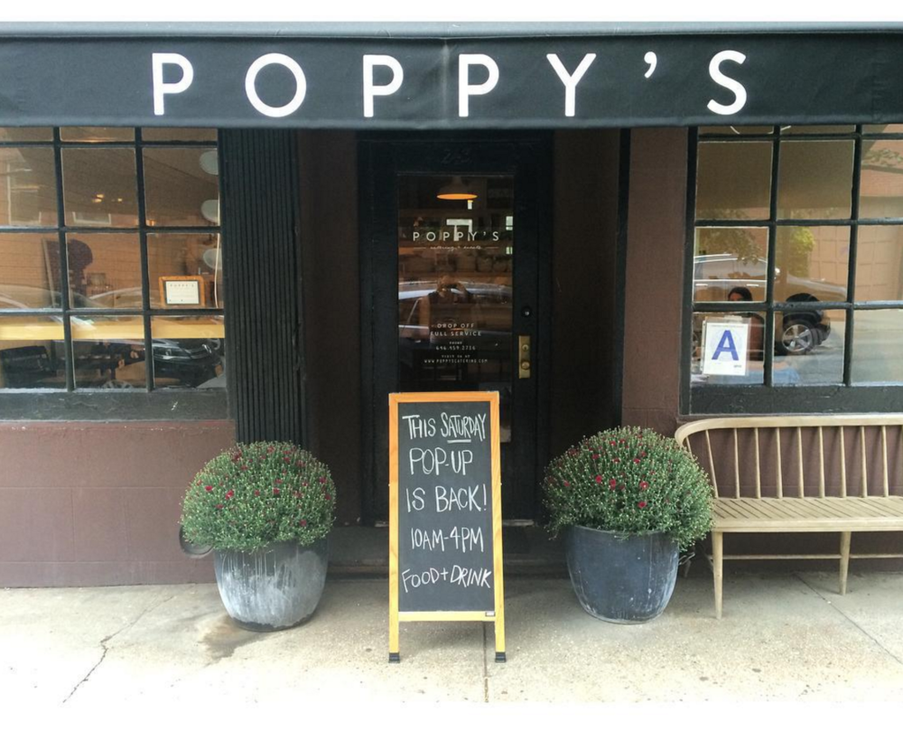 The storefront at Poppy's, located at 243 Degraw Street in Cobble Hill, Brooklyn. [Photo by Poppy's]