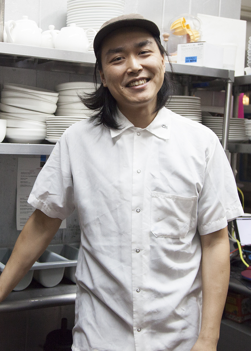 Chef and co-owner Jonathan Wu.