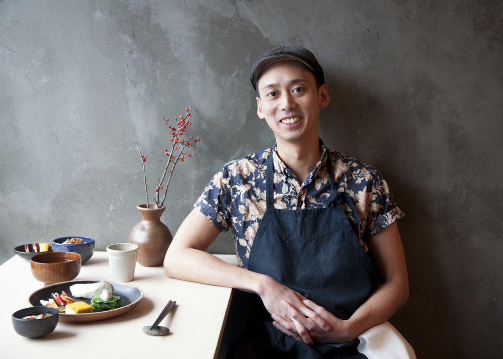 Head chef JT Vuong at Okonomi, which celebrates its 3-year anniversary on May 1st.