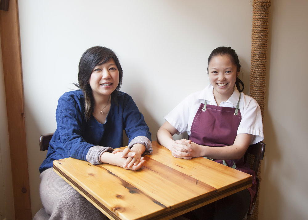 Owner Maiko Kyogoku and Executive Chef Emily Yuen of Bessou in NoHo.