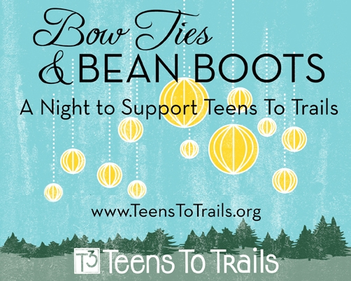 Bow Ties & Bean Boots Poster