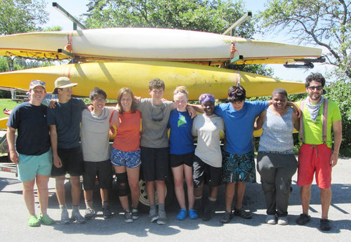3-weeks kayaking the coastline!