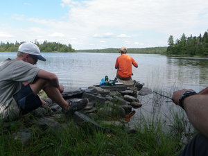 Nicholas Brackley canoes the Northern Woods with Chewonki's Teen Wilderness Trips