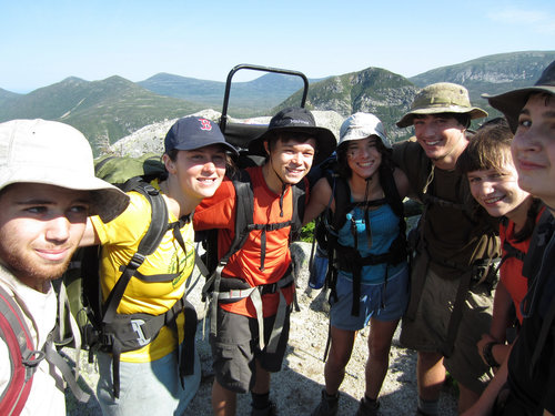 Joe Chapman hikes the Appalachian Trail with Chewonki's Teens Wilderness Trips