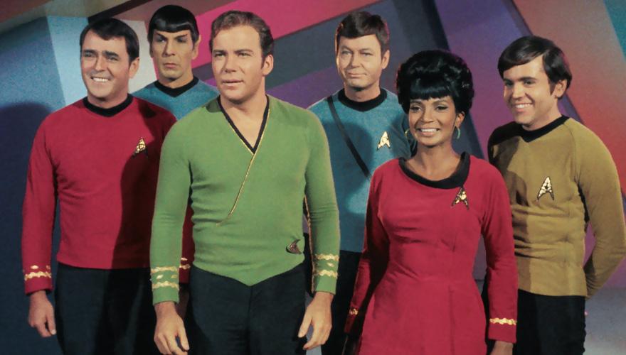 To body Go forward:The imagined civilisation of Star Trek