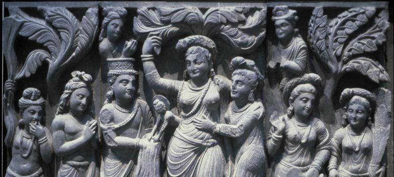 Art of Gandhara: a mixture of Hindu and Greek