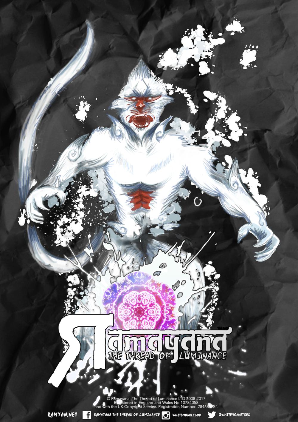 Hanuman INk Poster.png