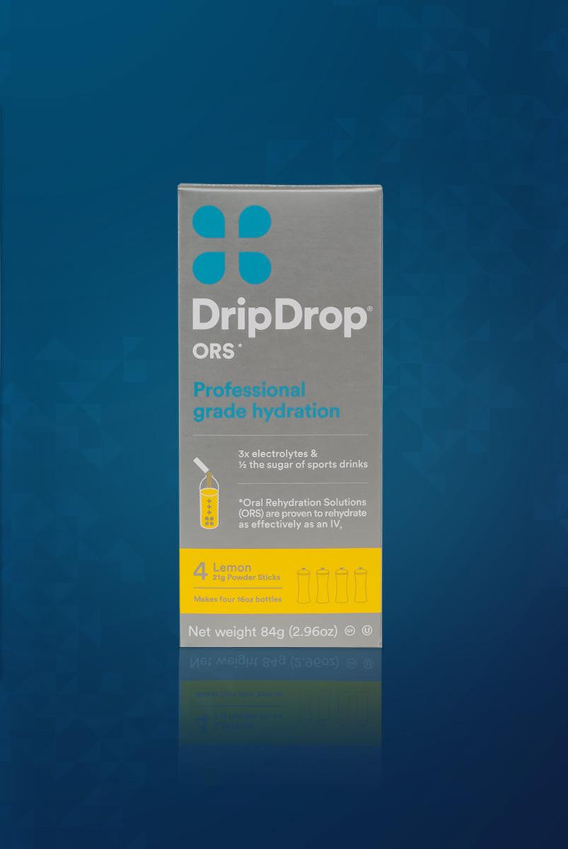 DRIPDROP Hydration Powder - Lemon — New Performance Nutrition