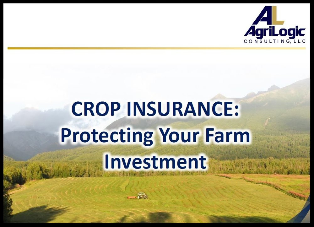 View the AgriLogic Risk Management Presentation -