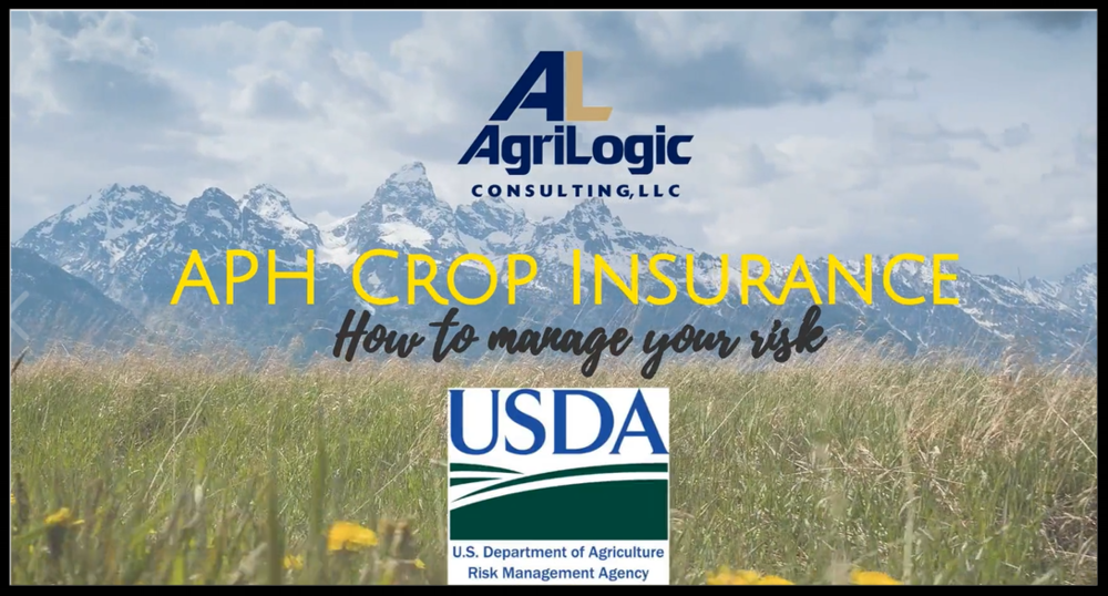 APH Crop Insurance in Alaska -