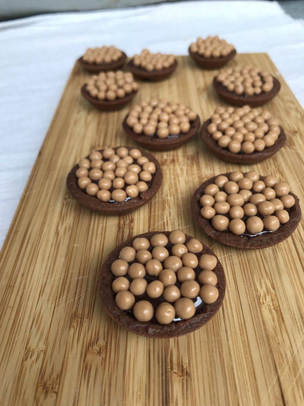 Nutella Ganache LaRomiBakery