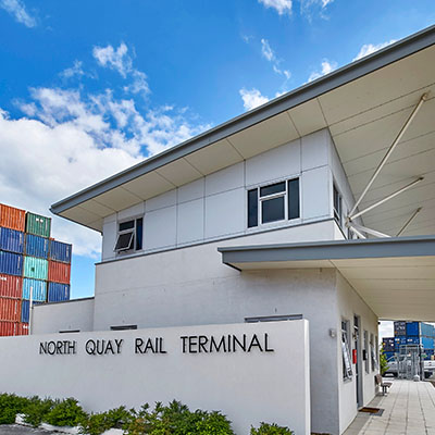 North Quay Rail Terminal