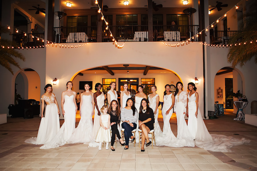 Tampa Bay Wedding Week Fashion Show. Photography by Limelight Photography.