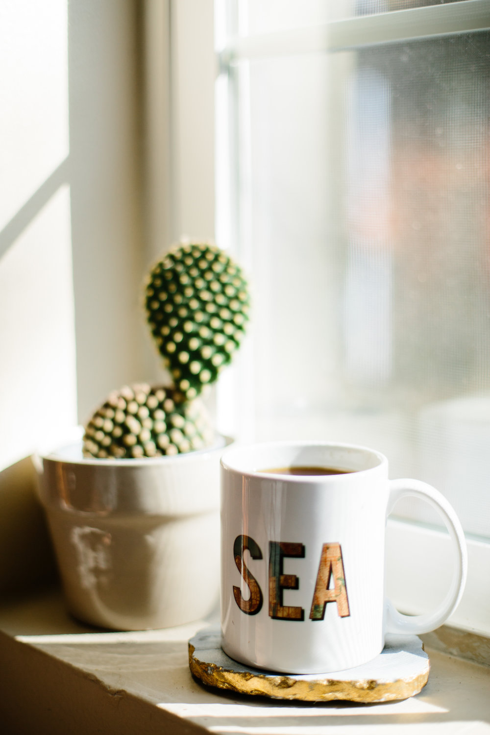 Nautical mug by PaperFinch Design. Photo by Janelle Elaine.