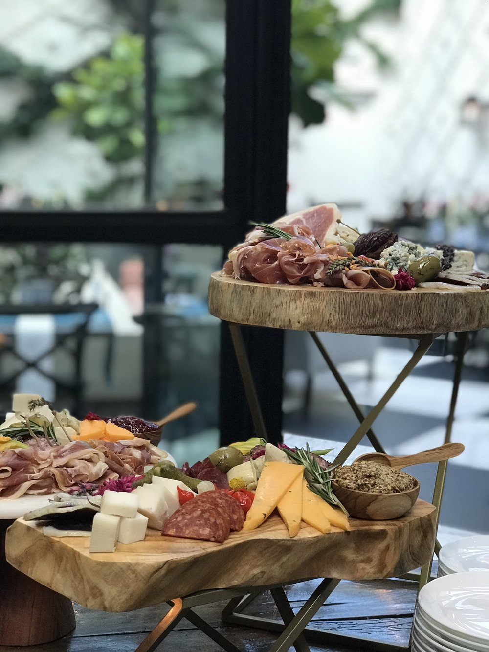 Presenting the most amazing Charcuterie display we've ever seen!