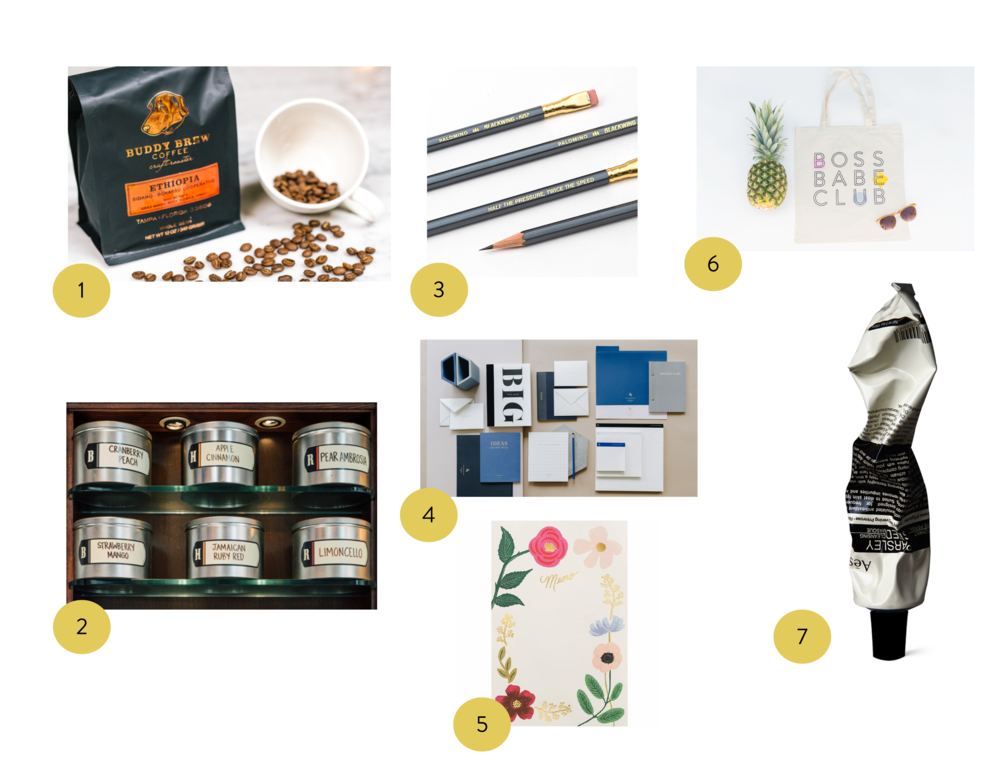 All of these items can be found at Oxford Exchange.