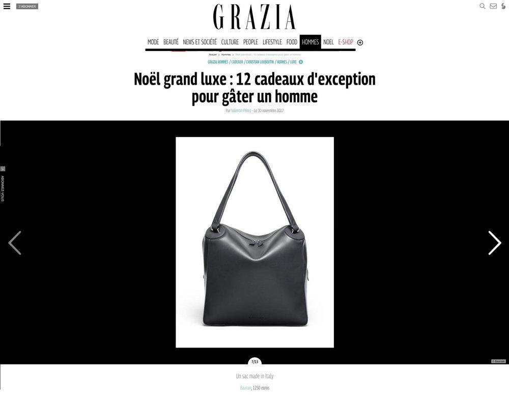 BAURAIN - Grazia.fr