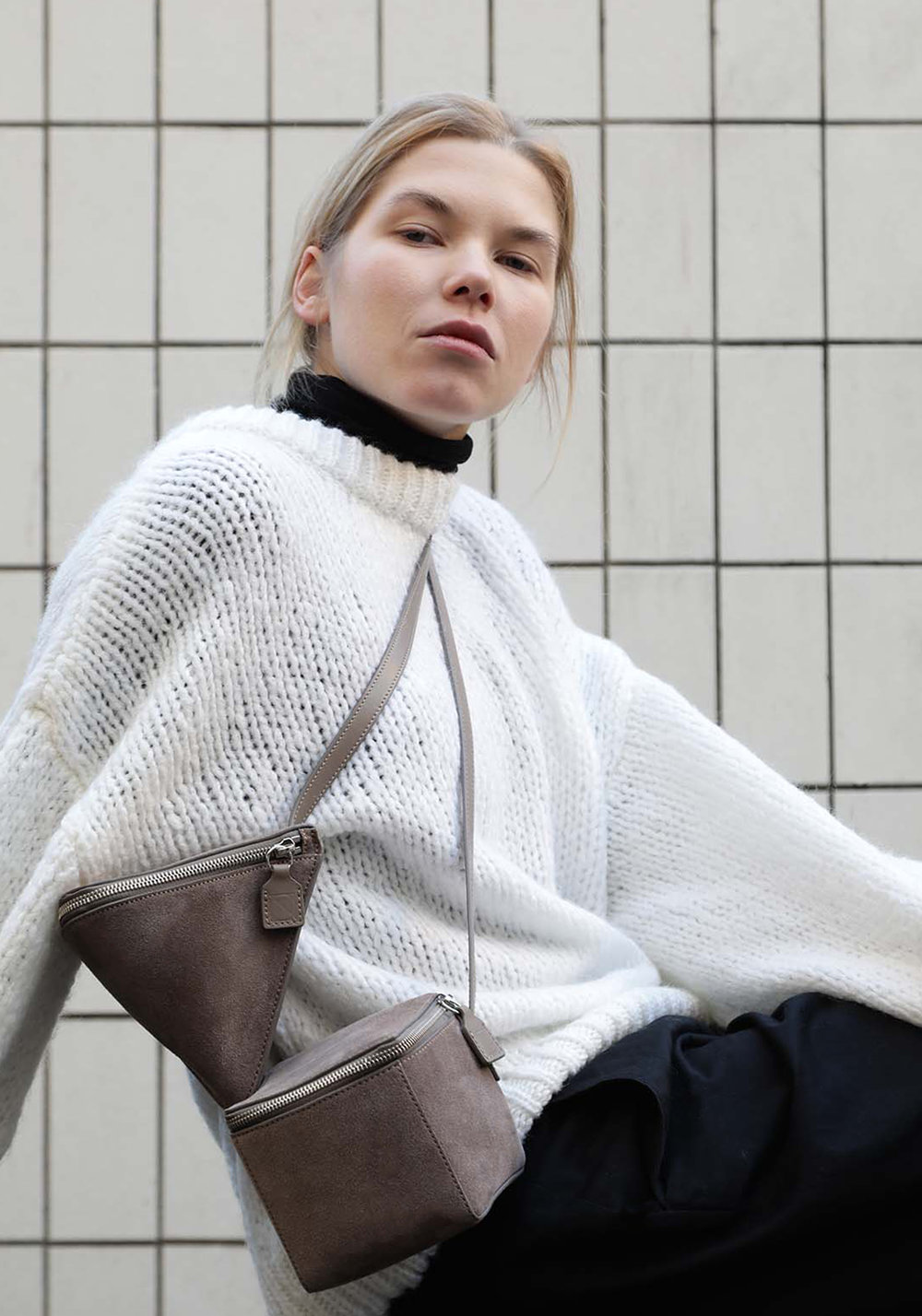 BAURAIN FW18 pythagore and cubox crossbody bags