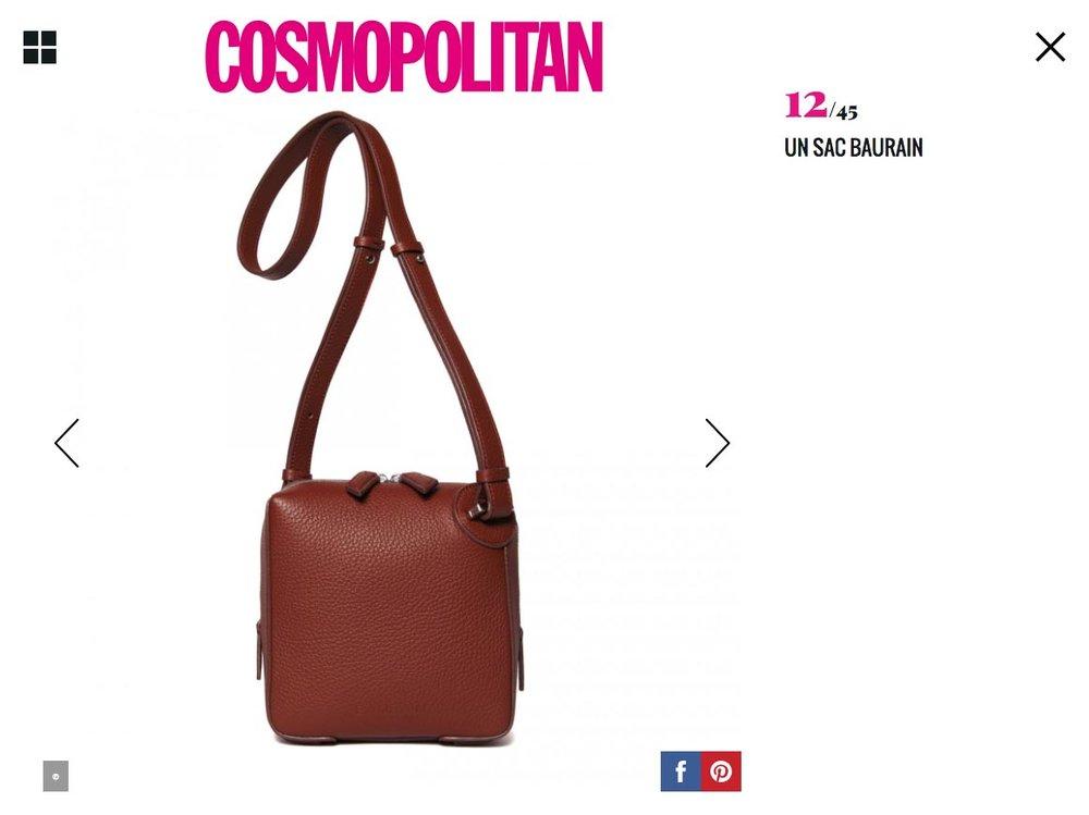 BAURAIN on Cosmopolitan.fr September 2018