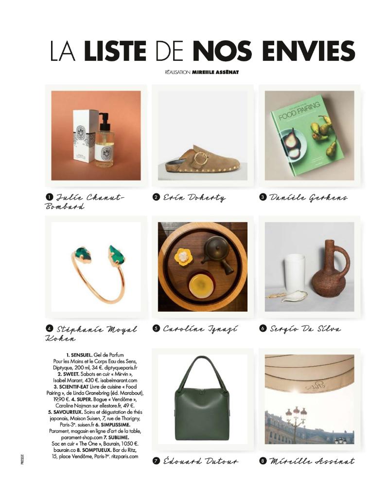 BAURAIN in Elle France October 2018