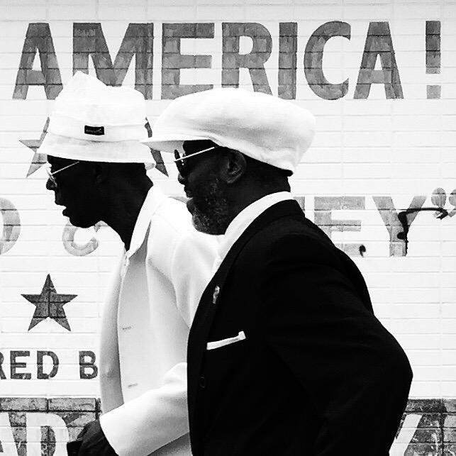 Black In White, America