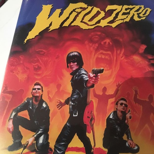 Wild zero - japanese cult, rock, horror, campy cinematic masterpiece about to start at 9:30 tonight! Come grab some sexy six-dollar punch and join the build in drinking game. And if you prefer hearing about our events more than 15 minutes before join our mailing list at www.bar-uni.com!! #movienight #greenpoint #brooklyn #punch #cocktail #free