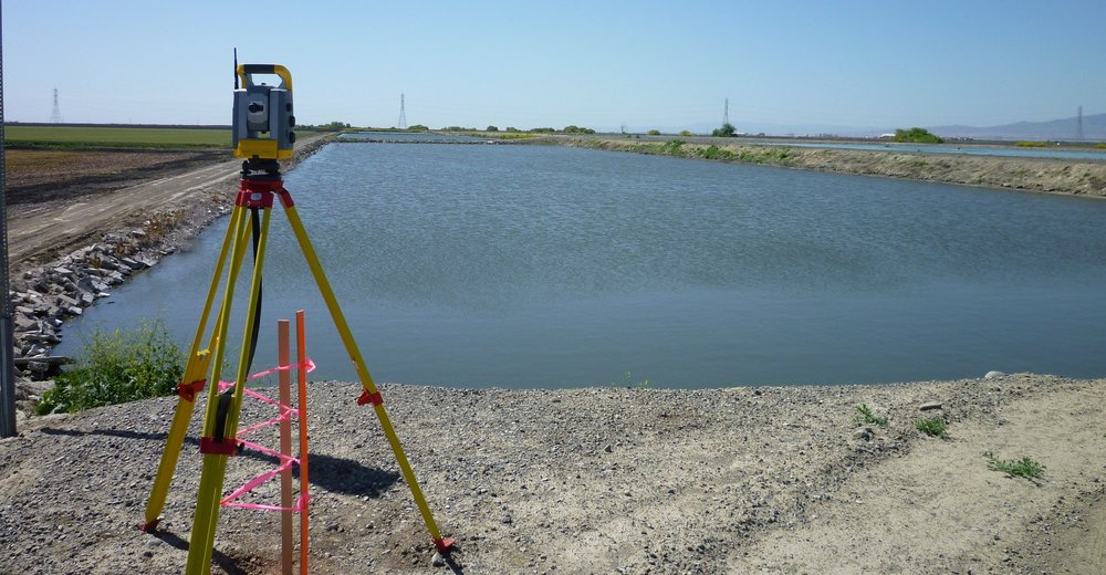 SAN JOAQUIN WASTE WATER TREATMENT PLANT   Working with Clark Bros, we provided Geomatics services for the City of San Joaquin project, a 0.5 Million Gallons per Day Sewer Treatment Plant Expansion, funded by the USDA.  Control Survey | Construction Staking | Quantity Survey