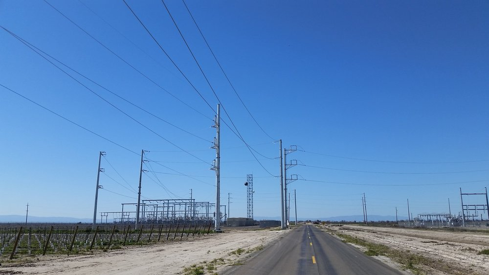 HENRIETTA TO LEPRINO TRANSMISSION LINE   From December 2015 to February 2016, Praxis provided survey services to Summit Line Construction for the installation of over 2 miles of transmission line that tied the Henrietta Substation to the Leprino switching station outside of Lemoore, CA.  Constructability Review | Construction Staking