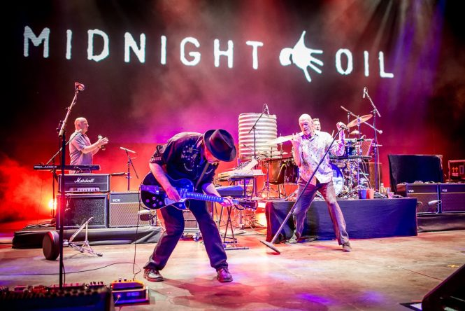 Midnight Oil Booking