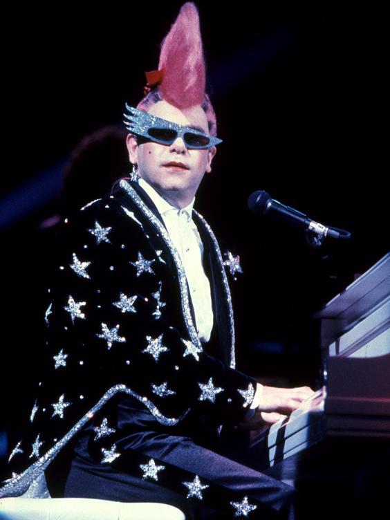 Elton John Booking