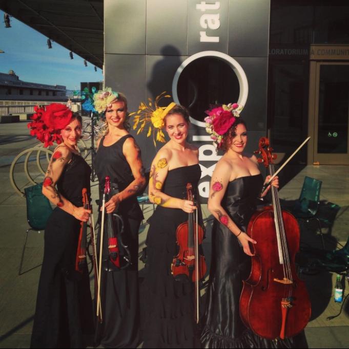 Hire Electa Quartet for Weddings