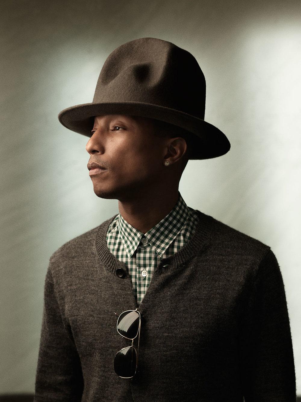 Pharrell Williams Booking