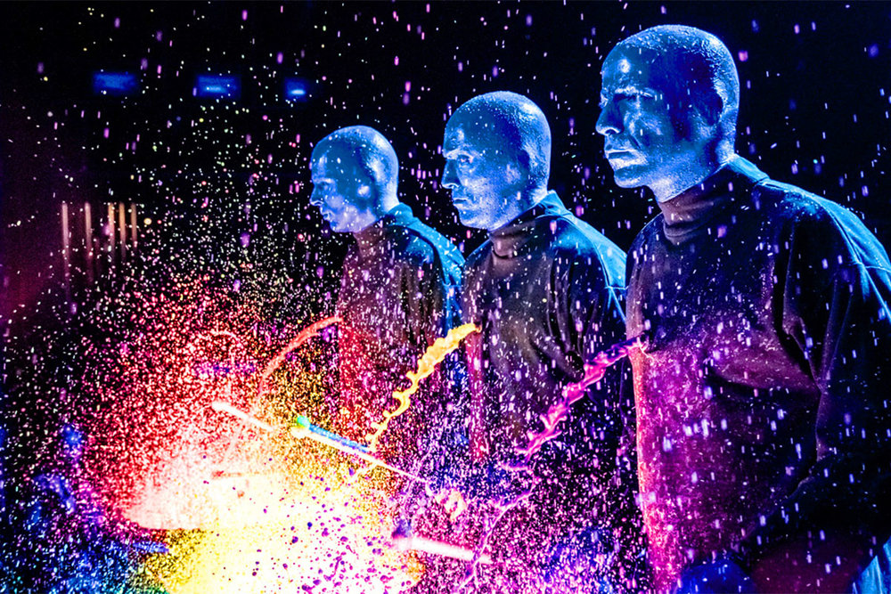 Hire The Blue Man Group