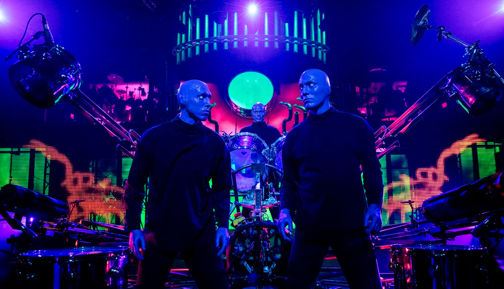 Blue Man Group Booking
