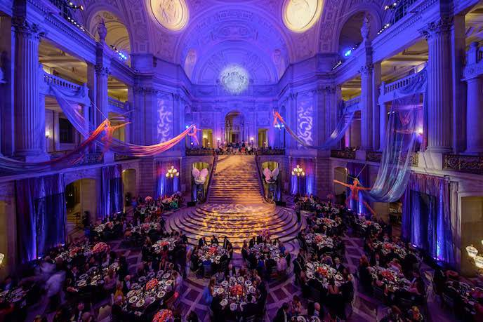 Some of our favorite annual events we've participated in include the Opening Night Galas of the San Francisco Symphony, Ballet and Opera. With our talent and resources around the globe, we've had featured headline entertainment and regional dance bands at galas worldwide.